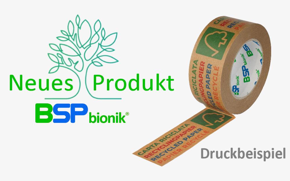 BSP bionik Nr. 135 Papier-Verpackungsklebeband
