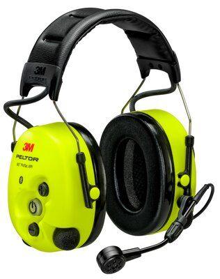 3M PELTOR WS ProTac XPI Gehörschutz-Headset, Kopfbügel, Bluetooth, gelb, MT15H7AWS6