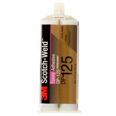 3M™ Scotch-Weld™ 2-Komponenten-Konstruktionsklebstoff auf Epoxidharzbasis für das EPX System DP 125, Grau, 48,5 ml