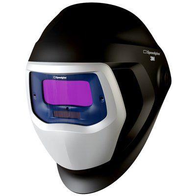 3M Speedglas 9100 Schweißmaske mit Seitenfenster H501805 und 9100V ADF