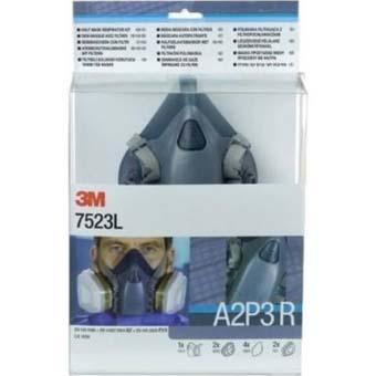 3M™ Gase-& Dämpfe-Maskenset A2P3 7523L