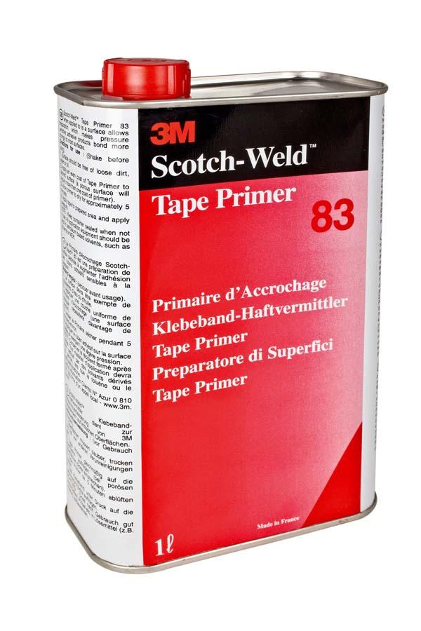 3M™ Scotch-Weld™ Tape Primer auf Basis Synthetischer Elastomere 83, Gold-Gelb, 1 l
