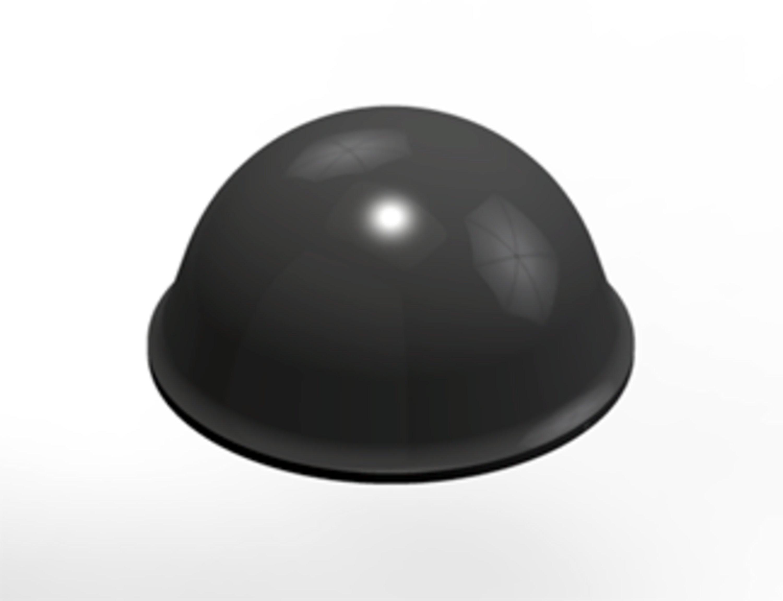 3M™ Bumpon™ SJ5017 Elastikpuffer, Grau, 9,6 mm