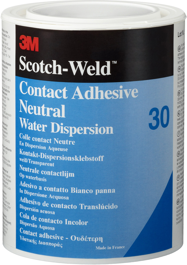 3M™ Scotch-Weld™ Dispersionsklebstoff auf Polychloroprenbasis 30, Transparent, 20 l