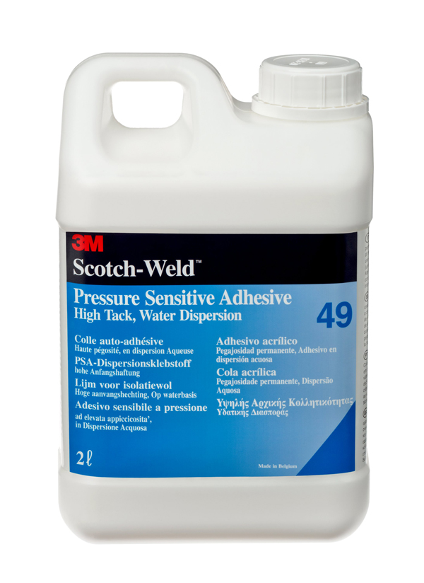3M™ Scotch-Weld™ Dispersionsklebstoff auf Acrylatbasis 49, Transparent