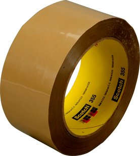 Scotch® Verpackungsklebeband 355, Transparent, 75 mm x 66 m, 0,09 mm