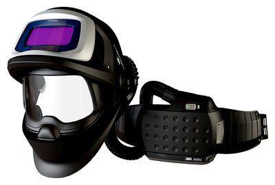 3M Speedglas Schweißmaske 9100 FX Air mit 9100X ADF, mit Adflo Gebläseatemschutz, inkl. Aufbewahrungstasche
