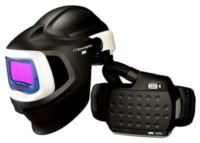 3M Speedglas Schweißmaske 9100 MP, mit 9100X ADF, mit Adflo Gebläseatemschutz, inkl. Tasche
