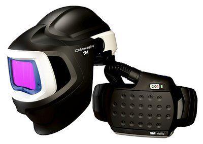 3M Speedglas Schweißmaske 9100 MP, mit 9100XX ADF, mit Adflo Gebläseatemschutz, inkl. Tasche