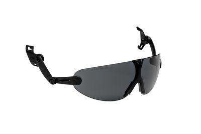 3M Integrierbare Schutzbrille für Schutzhelm, grau, V9G