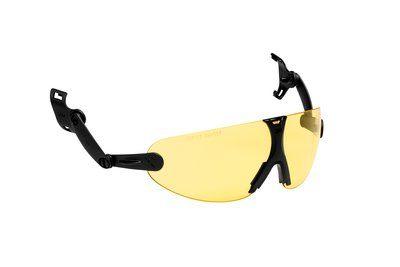 3M Integrierbare Schutzbrille für Schutzhelm, Gelb, V9A
