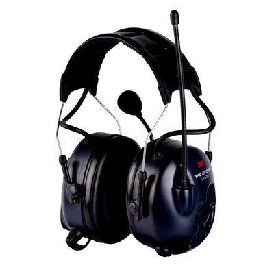 3M Peltor LiteCom, PMR 446, Kopfbügel, SNR = 32 dB, lizenzfreies PMR-Gehörschutzfunkgerät