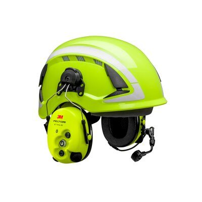 3M PELTOR WS ProTac XPI Gehörschutz-Headset, Bluetooth, Helmbefestigung, gelb, MT15H7P3EWS6
