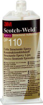3M™ Scotch-Weld™ 2-Komponenten-Konstruktionsklebstoff für das EPX-System SW DP 110, Transluzent, 50 ml