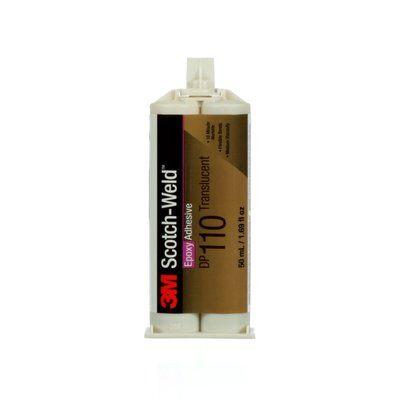 3M™ Scotch-Weld™ 2-Komponenten-Konstruktionsklebstoff auf Epoxidharzbasis für das EPX System DP 110, Grau, 50 ml