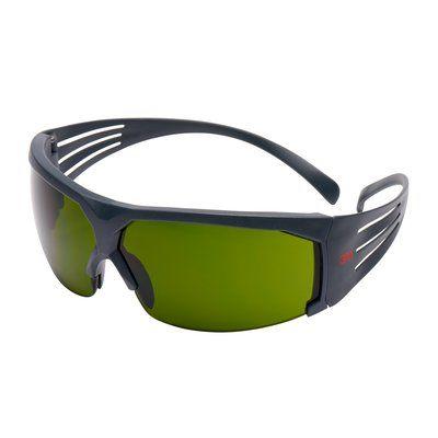 3M SecureFit Schutzbrille mit grauem Rahmen, Antikratz-Beschichtung, IR 3.0, SF630AS-EU