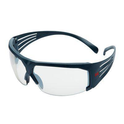 3M SecureFit Schutzbrille mit grauem Rahmen, Antikratz-Beschichtung, Indoor/Outdoor verspiegelt, SF610AS-EU