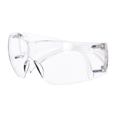 3M Schutzbrille SecureFit 201, klar AS/AF, Rahmen transparent