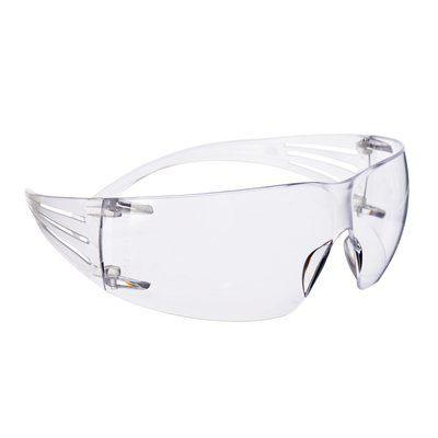 3M Schutzbrille SecureFit 201, klar AS/AF, Rahmen transparent