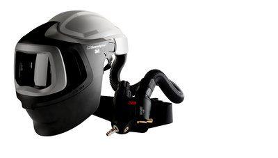 3M Speedglas Schweißmaske 9100 MP-Lite, ohne ADF, mit Versaflo Druckluftatemschutz V-500E