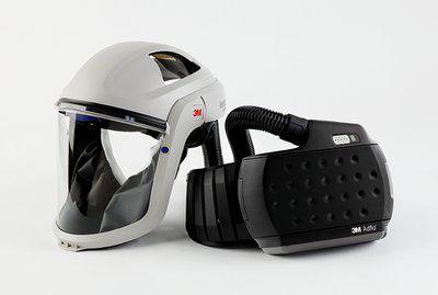 Versaflo Klarsichtvisier M-107 mit Adflo Gebläse-Atemschutz
