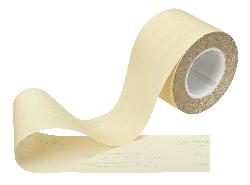 3M™ Microfinishing Film 262L, Rolle, 100,0 mm x 50 m, 3 Mil, Alox, 20 Micron, ASO, 76,2 mm, Kunststoffkern mit Keilnuten