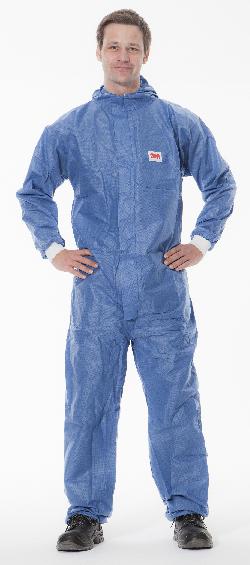 Typ 5//6 Gr/ö/ße XXL 3M Schutzanzug 4540+XXL blau wei/ß