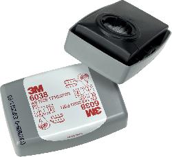3M™ Partikelfilter 6038 mit Aktivkohle