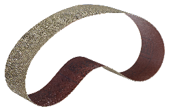 3M™ Flexibles Diamantschleifband 6460J, schwarz, 25,0 mm x 2000 mm, N125