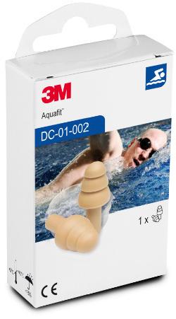 3M™ E-A-R™ Aquafit Gehör-Schwimmschutz DC01002