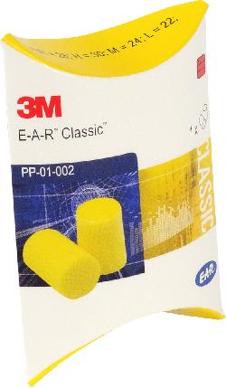 3M™ E-A-R™ CLASSIC™ Gehörschutzstöpsel PP01002