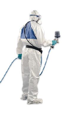 3M™ Schutzanzug 4520 weiß-grün