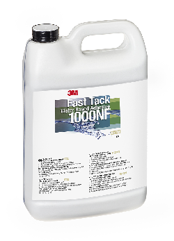 3M™ Dispersionsklebstoff auf Acrylatbasis Fast Tack 1000NF, Neutral, 3,785 l