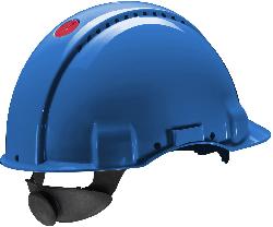 3M™ G3000 Schutzhelm belüftet, mit Uvicator, Ratsche und Kunststoffschweißband
