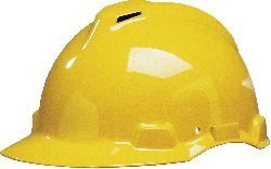 3M™ Peltor™ Schutzhelm G22DY in Gelb mit Pinlock und Leder-Schweißband