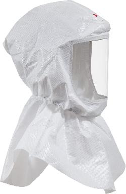 3M™ Ersatzhauben für S655 mit Ersatzhaube Hals-Schulterabdeckung, textile Halsabdichtung, Material: Web 24
