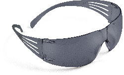 3M™ Schutzbrille SecureFit 202, grau AS/AF, Rahmen grau
