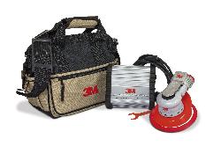 3M™ Einhand-Elektro-Exzenterschleifer Serie Elite Kit, 150 mm, externe Absaugung, 5 mm Schleifhub, 5/16'' Gewinde