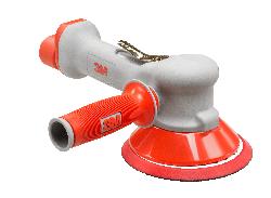 3M™ Zweihand-Druckluft-Exzenterschleifer, 150 mm, externe Absaugung, 10 mm Schleifhub
