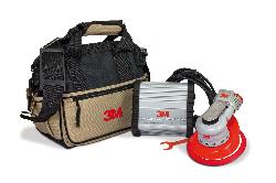 3M™ Einhand-Elektro-Exzenterschleifer Serie Elite Kit, 150 mm, externe Absaugung, 2,5 mm Schleifhub, 5/16'' Gewinde