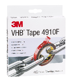 3M™ VHB™ Klebeband 4910F, Transparent, 19 mm x 3 m, 1 mm