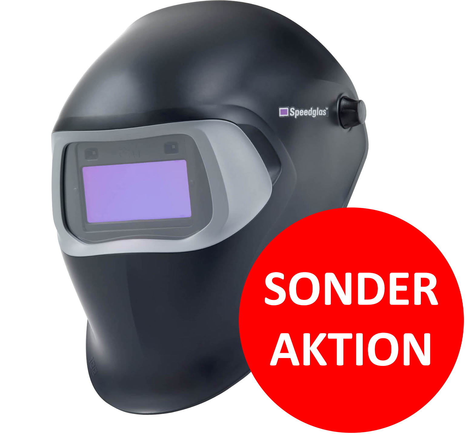 3M Speedglas 100V Black Schweißerhelm H751120
