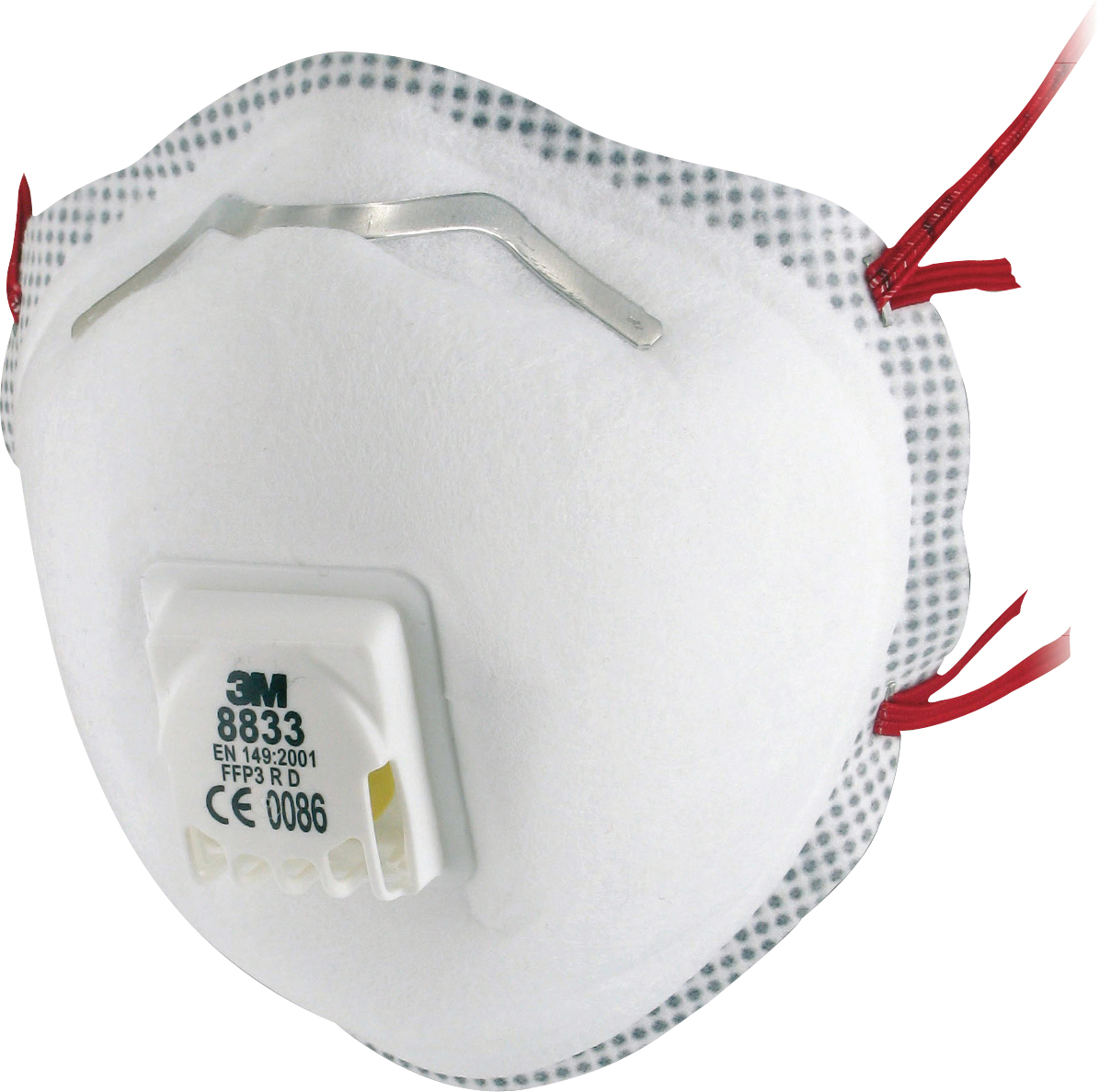 3M Atemschutzmaske 8833 FFP3 R D