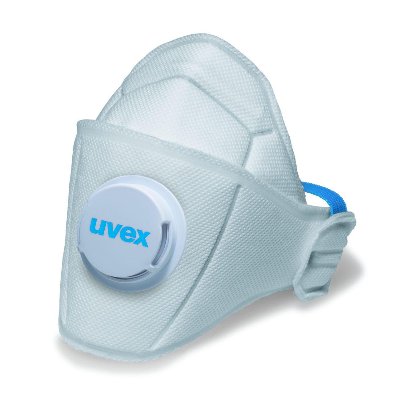 FFP1-Atemschutz-Faltmaske uvex silv-Air 5110 premium