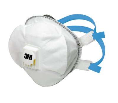 3M Atemschutzmaske 8825+ FFP2 R, vorgeformte Partikelmaske
