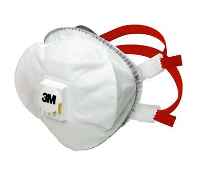 3M Atemschutzmaske 8835+, FFP3 R D, vorgeformte Partikelmaske
