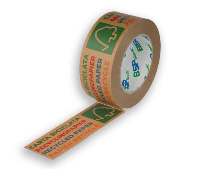 BSP bionik Nr. 135 Papier-Verpackungsklebeband, 50 mm x 50 m