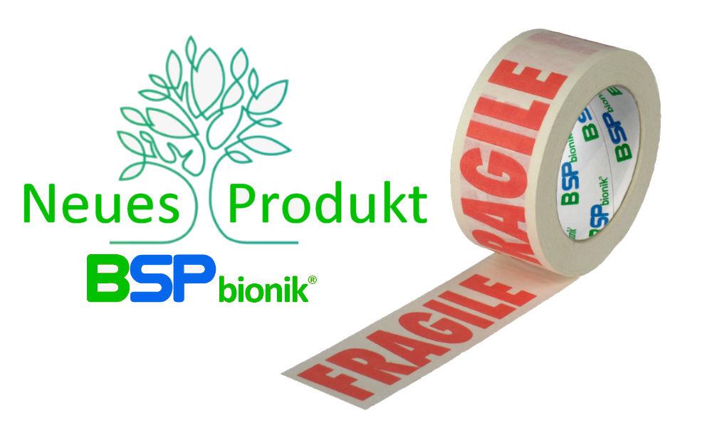 BSP bionik Nr. 120 Papier-Verpackungsklebeband, 50 mm x 50 m