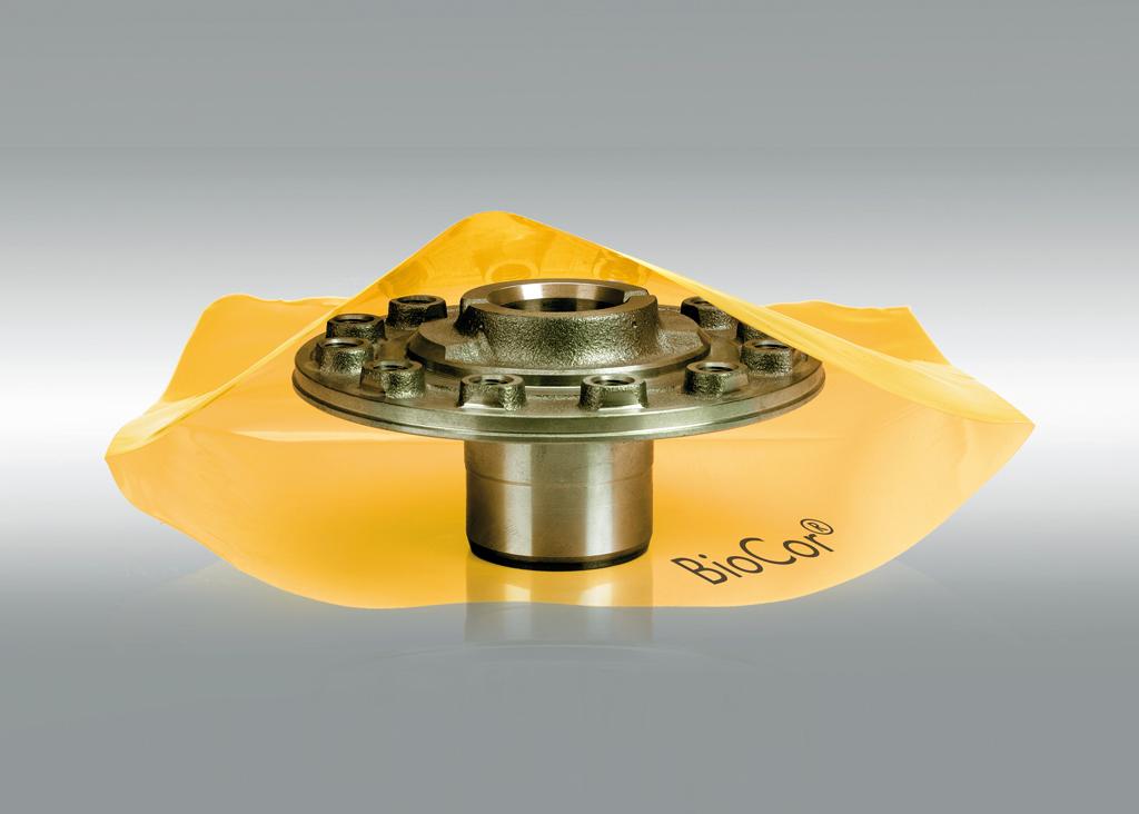 VCI Flachbeutel 80my, mandarin, 100mm x 150mm