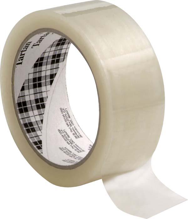 Scotch® Verpackungsklebeband 369, Transparent, Rolle a 66m